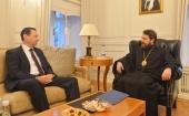 Председатель ОВЦС встретился с временным поверенным в делах Израиля в России