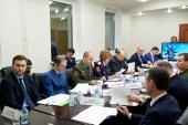 Сотрудники Синодального комитета по взаимодействию с казачеством приняли участие в заседании комиссии Совета при Президенте РФ по делам казачества