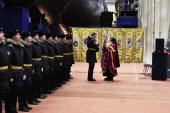 В Северодвинске освятили атомный подводный крейсер четвертого поколения «Новосибирск»