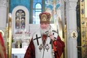Патриаршая проповедь в день памяти священномученика Илариона, архиепископа Верейского, в Сретенском монастыре