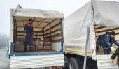 Более 5000 рождественских подарков из Донской митрополии доставлены в Донецк и Луганск