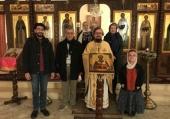 В храме Представительства Русской Православной Церкви в Дамаске отметили престольный праздник