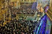 Тысячи паломников приняли участие в торжествах в Почаевской лавре в день память преподобного Амфилохия Почаевского