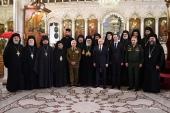 Президент России посетил Успенский Патриарший собор в Дамаске