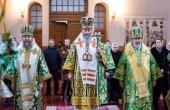 Блаженнейший митрополит Киевский и всея Украины Онуфрий возглавил богослужение в киевском Пантелеимоновом монастыре в Феофании