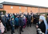 Предстоятель Украинской Православной Церкви благословил детей Донбасса, праздновавших Рождество в Киеве и Почаеве