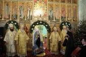 Митрополит Крутицкий Ювеналий возглавил празднование Рождества Христова в подмосковной Коломне