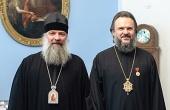 Архиепископ Верейский Амвросий награжден медалью Московской духовной академии «За труды и заслуги»