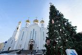 В Неделю по Рождестве Христовым глава Казахстанского митрополичьего округа совершил Литургию в Успенском кафедральном соборе Нур-Султана