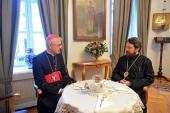 Митрополит Волоколамский Иларион встретился с епископом Иосифом Вертом