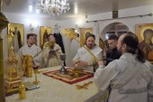 Впервые в истории Североморской епархии Литургия апостола Иакова совершена архиерейским чином