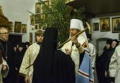 Монахиня Рафаила (Позигунова) поставлена во игумении Снетогорского монастыря Псковской епархии