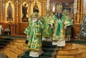 Митрополит Минский Павел возглавил празднование дня памяти преподобного Серафима Саровского в Серафимо-Дивеевском монастыре