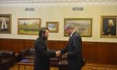 Председатель Отдела внешних церковных связей встретился с послом Австрии