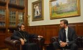 Председатель ОВЦС провел встречу с главой миссии Мальтийского Ордена в России