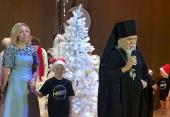 Председатель Синодального отдела по социальному служению посетил благотворительную елку в Храме Христа Спасителя