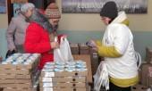 Нижегородской епархией организована благотворительная акция по раздаче молочной продукции