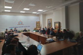 В Алма-Ате состоялось первое в 2020 году заседание открытого исторического общества Казахстанского митрополичьего округа