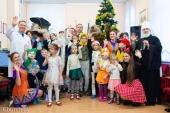 Патриарший экзарх и министр здравоохранения РБ посетили Центр медицинской реабилитации детей с психоневрологическими заболеваниями в Минске