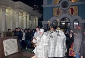 В праздник Богоявления глава Среднеазиатского митрополичьего округа совершил праздничные богослужения в Ташкенте