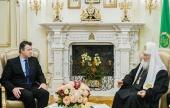 Святейший Патриарх Кирилл встретился с послом Германии в России