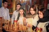 Иностранные студенты совершают паломничество в освященный Святейшим Патриархом Кириллом храм мученицы Татианы в Когалыме