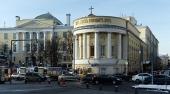 Архиепископ Верейский Амвросий возглавил торжества по случаю 25-летия возрождения богослужебной жизни в домовом храме Московского государственного университета