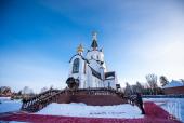 Блаженнейший митрополит Киевский Онуфрий возглавил торжества престольного праздника в Анастасиевском монастыре в Киевской области