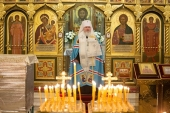 Председатель Синодального комитета по взаимодействию с казачеством совершил панихиду по жертвам расказачивания