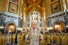 Перед началом работы XXVIII Международных Рождественских чтений Святейший Патриарх Кирилл совершил Литургию в Храме Христа Спасителя