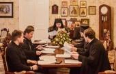 В Донском ставропигиальном монастыре прошло первое в 2020 году заседание Комиссии по вопросам принесения святынь