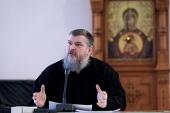 В Андреевском ставропигиальном монастыре прошел круглый стол «Деятельность индивидуальных наставников в духовных учебных заведениях Русской Православной Церкви»