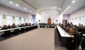 В рамках Рождественских чтений прошла встреча руководства Учебного комитета с представителями администраций духовных учебных заведений