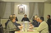 Митрополит Волоколамский Иларион возглавил заседание Попечительского совета Китайского Патриаршего подворья