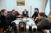 Состоялась встреча председателя Финансово-хозяйственного управления с ректором Санкт-Петербургской духовной академии