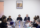 В Учебном комитете Русской Православной Церкви прошел круглый стол «Проблемы реформы регентского образования»