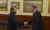 Председатель ОВЦС провел встречу с послом Черногории в России