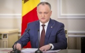 Поздравление Президента Республики Молдова И.Н. Додона Святейшему Патриарху Кириллу с годовщиной интронизации