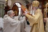 Одиннадцатую годовщину интронизации Святейшего Патриарха Кирилла отметили в Сербии