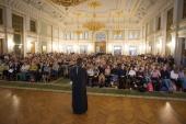 В Свято-Тихоновском университете прошел очный тур XV Многопрофильной олимпиады «Аксиос»