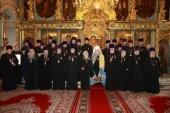Патриарший наместник Московской епархии вручил награды епархиальным клирикам