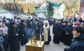 В Псково-Печерском монастыре почтили память архимандрита Иоанна (Крестьянкина)