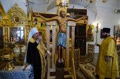 Для Казахстана создана и освящена точная копия чудотворного небоявленного Годеновского Креста