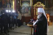 В Киево-Печерской лавре состоялась презентация книги о священномученике Владимире (Богоявленском) и гонениях на Церковь