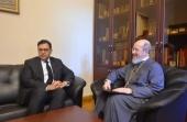 Заместитель председателя ОВЦС встретился с временным поверенным в делах Хашимитского Королевства Иордании в России