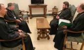 Митрополит Волоколамский Иларион встретился с председателем Папского Совета по содействию христианскому единству кардиналом Куртом Кохом