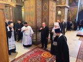 Софийский собор Новгорода посетил председатель Правительства Российской Федерации Михаил Мишустин