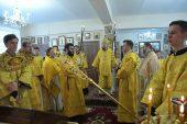 В день памяти Трех святителей управляющий делами Казахстанского митрополичьего округа совершил Литургию на греческом языке в Алма-Атинской духовной семинарии