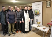 В Кирове освятили модуль для бездомных