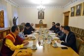 Начала свою деятельность Рабочая группа по подготовке торжественного заседания Межрелигиозного совета России, посвященного 75-летию Победы